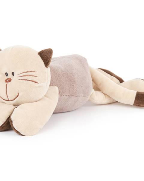 4Home Boma Plyšová mačka ležiaca, 18 cm