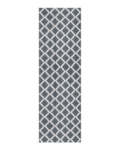 Sivý behúň Zala Living Magic Elegance, 50×150 cm