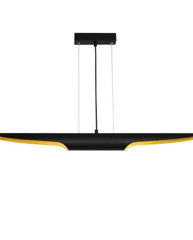 Čierne závesné svietidlo Opviq lights Efsun