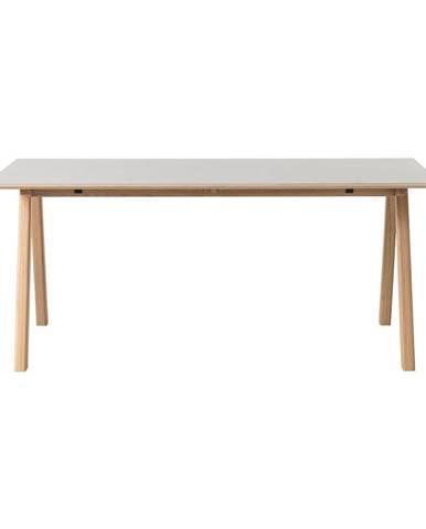 Sivý jedálenský stôl Unique Furniture Bilbao, 180x90cm