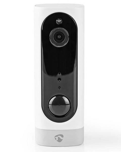 Nedis IP kamera Nedis Wificbi10wt, bateriová, Wi-Fi, 1080p biela