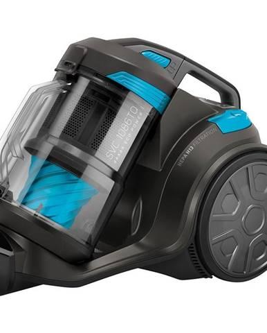 Podlahový vysávač Sencor SVC 1086TQ čierny/modr
