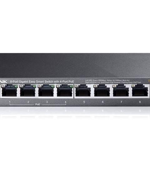 TP-Link Switch TP-Link TL-Sg108pe čierny