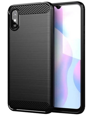 Kryt na mobil WG Carbon na Xiaomi Redmi 9A čierna