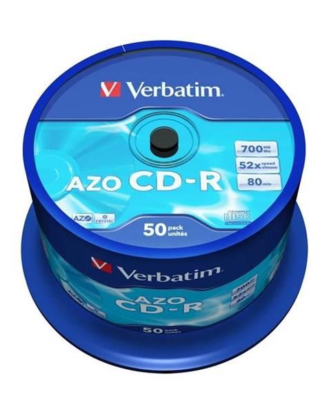 Verbatim Disk Verbatim Crystal CD-R 700MB/80min, 52x, 50-cake