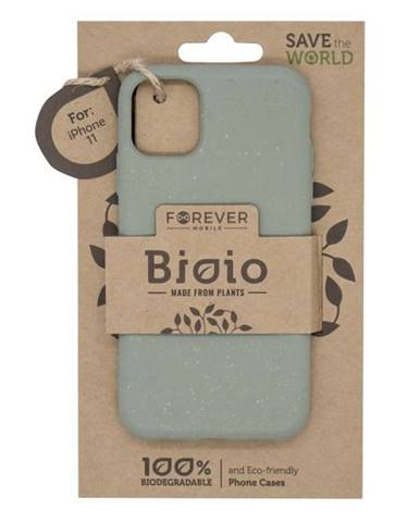 Kryt na mobil Forever Bioio na Apple iPhone 11 zelený