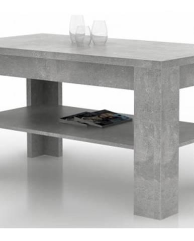 Konferenčný stolík AS-55, šedý beton%