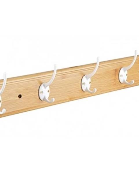 ASKO - NÁBYTOK Nástenný vešiak Bamboo, šířka 61 cm%