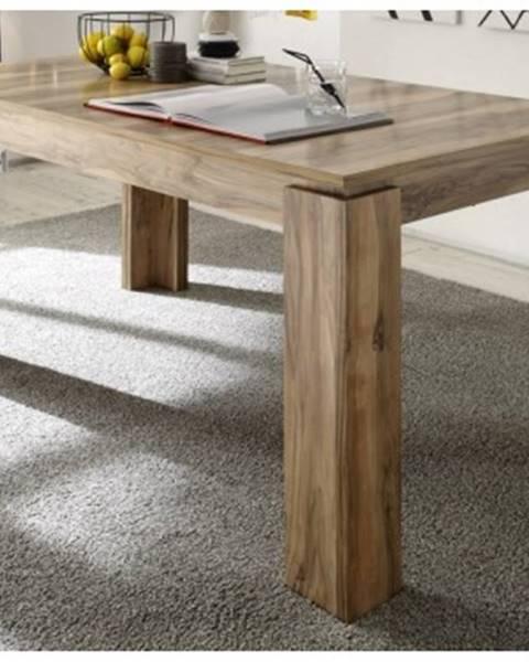 ASKO - NÁBYTOK Jedálenský stôl Universal 160x90 cm, saténový orech%
