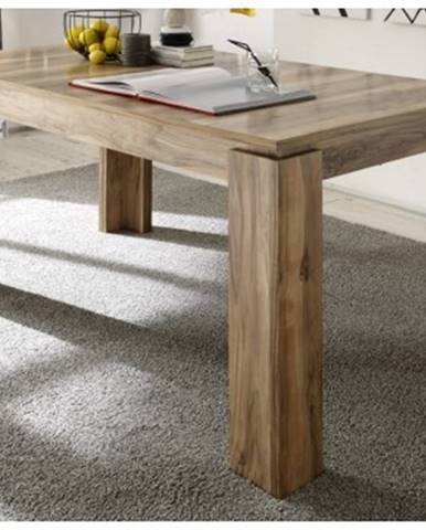 Jedálenský stôl Universal 160x90 cm, saténový orech%