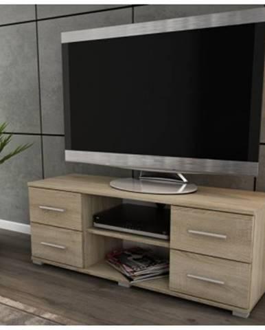 TV stolík Oskar TV, dub sonoma, 120 cm%