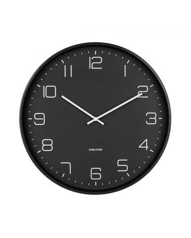 Dizajnové nástenné hodiny 5751BK Karlsson 40cm