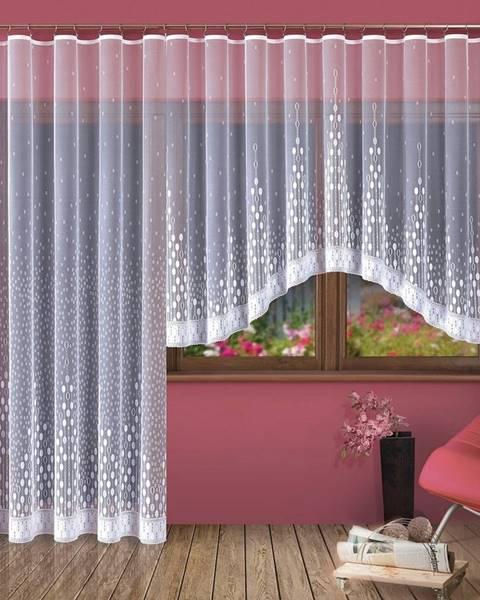 Mäser Forbyt Kusová záclona Paula, 300 x 150 cm, 300 x 150 cm
