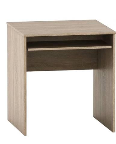 Písací stôl s výsuvom dub sonoma TEMPO ASISTENT NEW 023