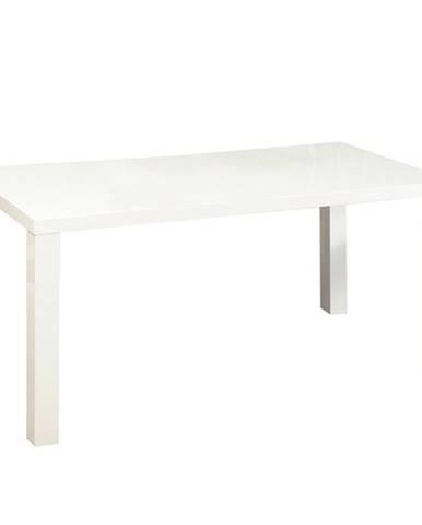 Jedálenský stôl biela vysoký lesk HG ASPER TYP 2 problém so zložením
