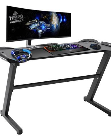 PC stôl/herný stôl čierna JADIS
