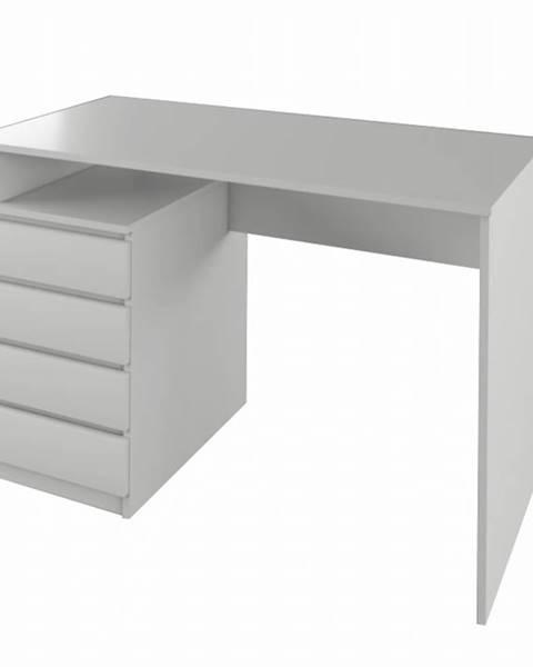 Tempo Kondela PC stôl biela HANY NEW