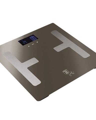 Osobná váha metalická Carbon BERLINGERHAUS BH-9103