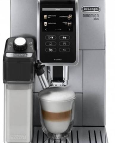 Plnoautomatický kávovar De'Longhi Dinamica Plus ECAM370.95.S + Dárek 4kg kávy Kimbo Juta bag