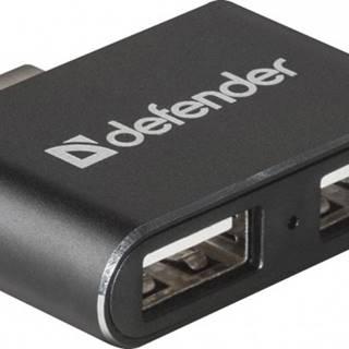 USB 2.0 hub Defender Quadro Dual