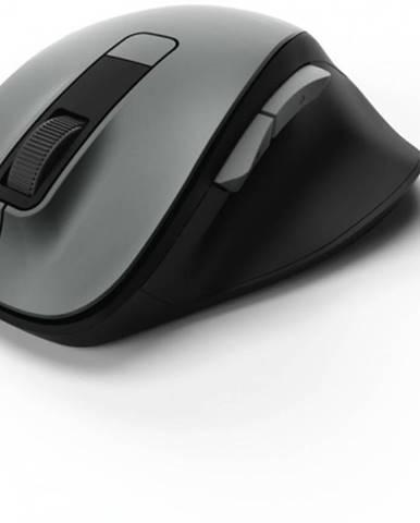 Bezdrôtová myš Hama MW 500, tichá, 6 tlačidiel, sivá