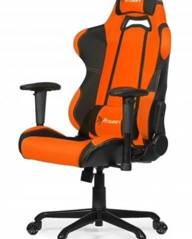 Herná stolička Arozzi Torretta čierno-oranžová TORRETTA-OR + ZDARMA podložka pod myš a hub