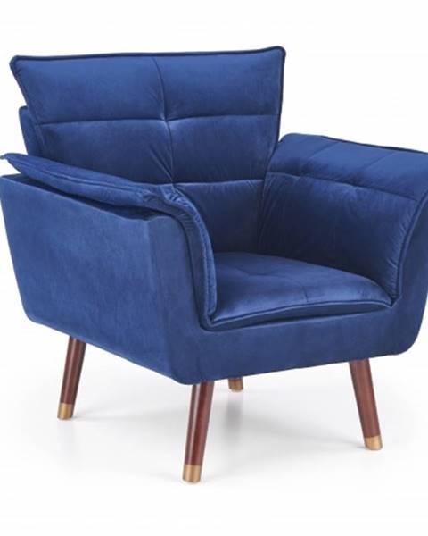 OKAY nábytok Moderné kreslo Rezzo modrá