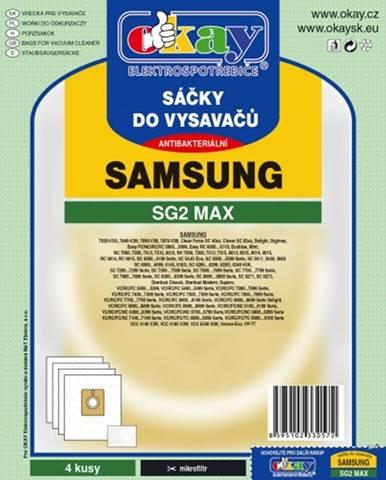 Vrecká do vysávača Samsung SG2 MAX, 8ks