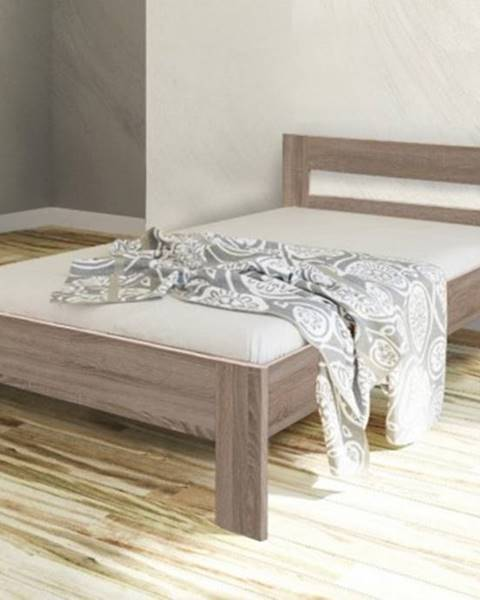 OKAY nábytok Rám postele Nikola II, 90x200, dub