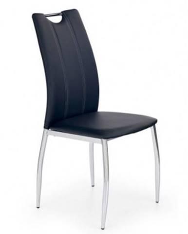 Jedálenská stolička K187 čierna