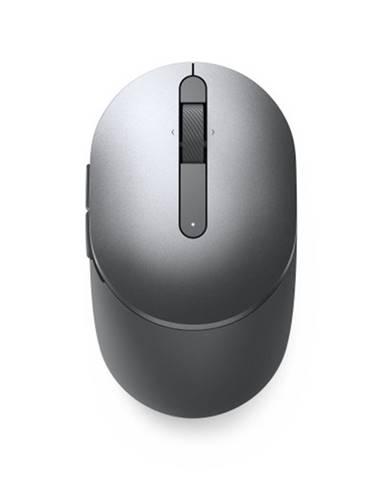Bezdrôtová myš Dell MS5120W, titánovo šedá + Zdarma podložka Olpran