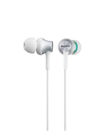 Slúchadlá do uší Sony MDR-EX450AP, biele