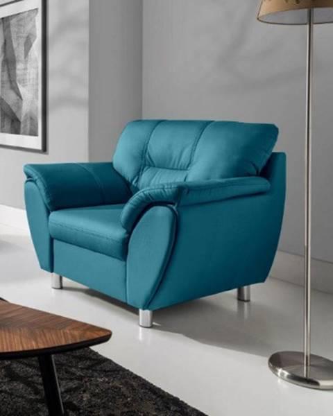 OKAY nábytok Moderné kreslo Amigo modrá
