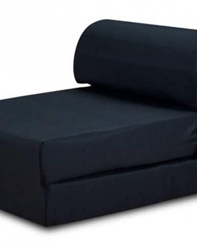 Moderné kreslo Marino rozkladacie čierna