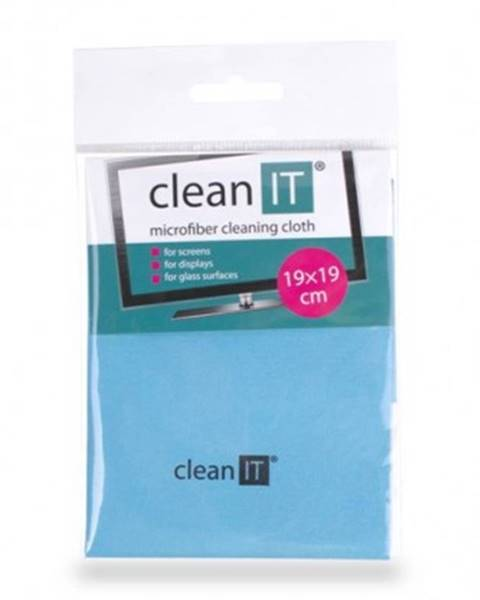 Clean IT Čistiaca utierka z mikrovlákna CLEAN IT CL710, malá, modrá