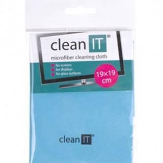 Čistiaca utierka z mikrovlákna CLEAN IT CL710, malá, modrá