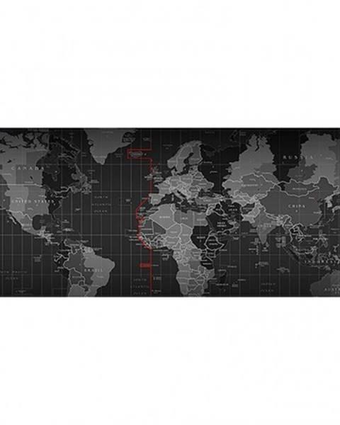Winner Group Podložka WG pod klávesnicu a myš, mapa sveta, 750x300mm