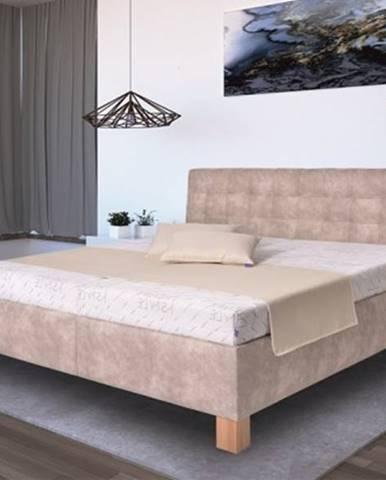 Čalúnená posteľ Victoria 180x200, vr. matraca, pol. roštu a ÚP