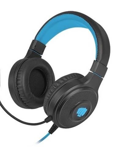 Herné stereo slúchadlá FURY Warhawk, RGB, čierna