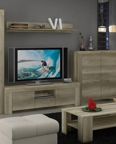 Sky - Obývacia stena, komoda, RTV stolík, stolík