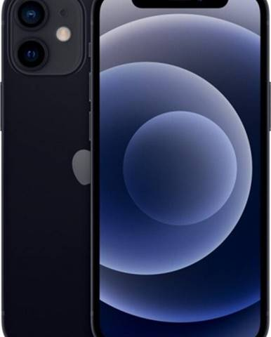 Mobilný telefón Apple iPhone 12 mini 64GB, čierna