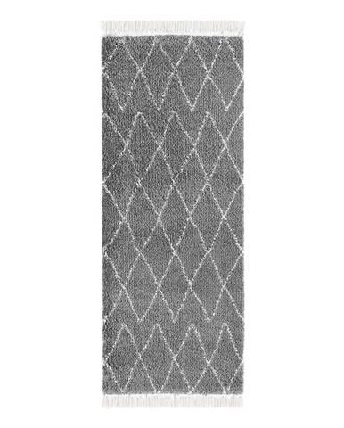 Sivý behúň Mint Rugs Jade, 80 x 200 cm