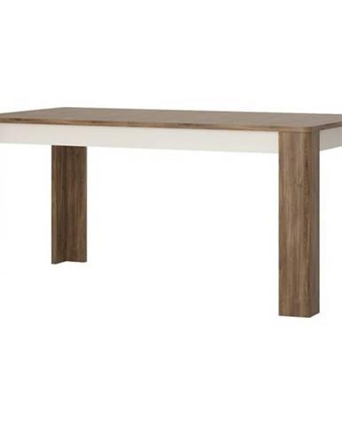 Stôl TOLEDO biela/dub stirling