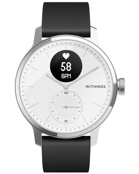 Withings Inteligentné hodinky Withings Scanwatch 42 mm biele