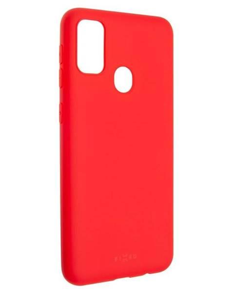 FIXED Kryt na mobil Fixed Story na Samsung Galaxy M21 červený