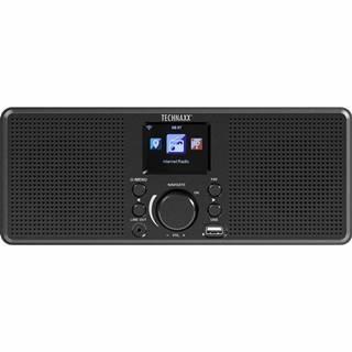 Internetový rádioprijímač Technaxx TX-153 čierny