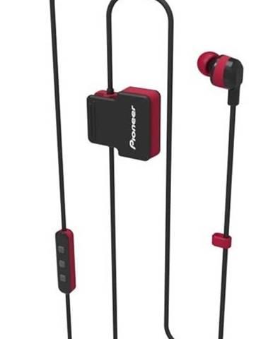 Slúchadlá Pioneer SE-Cl5bt-R čierna/červená