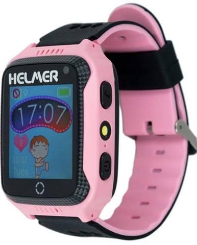 Inteligentné hodinky Helmer LK 707 dětské s GPS lokátorem ružový