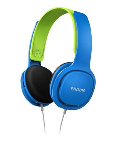 Slúchadlá Philips SHK2000 modrá/zelená
