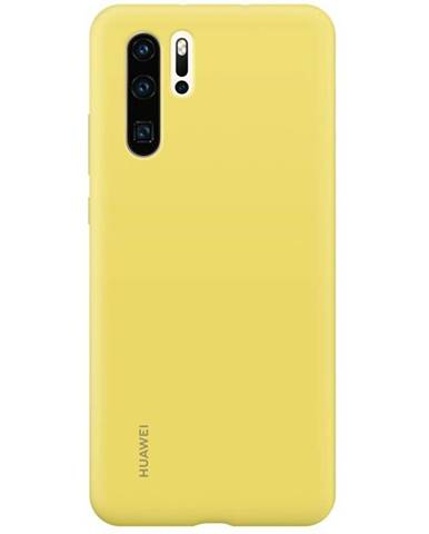 Kryt na mobil Huawei Silicone Case na P30 Pro žltý